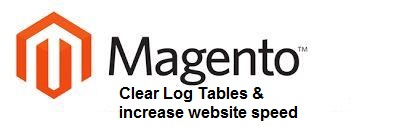 Clear log table & speedup the website speed as well as free up the server space